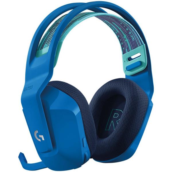 LOGITECH G733 LIGHTSPEED Wireless RGB Gaming Headset - BLUE - 2.4GHZ - EMEA 2