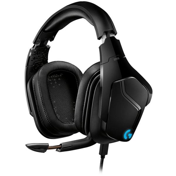 "LOGITECH G935 Wireless 7.1 Surround Sound LIGHTSYNC Gaming Headset - 2.4GHZ - EMEA ""981-000744"" 0"