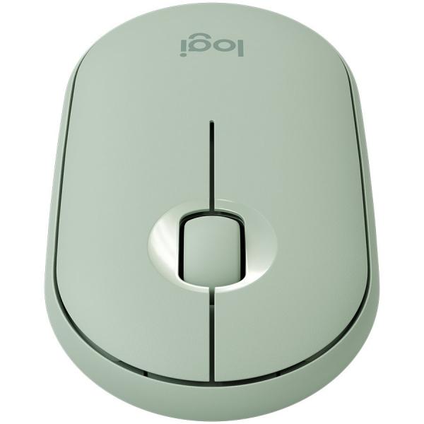LOGITECH Pebble M350 Wireless Mouse (Eucalyptus) 1