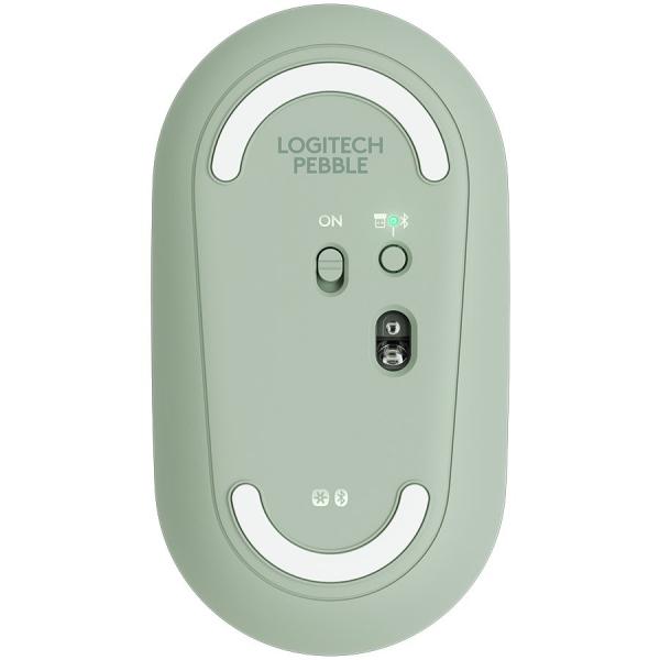 LOGITECH Pebble M350 Wireless Mouse (Eucalyptus) 2