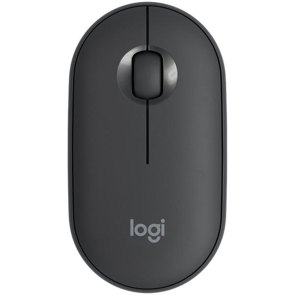 LOGITECH Pebble M350 Wireless Mouse - GRAPHITE - 2.4GHZ/BT - EMEA - CLOSED BOX 0