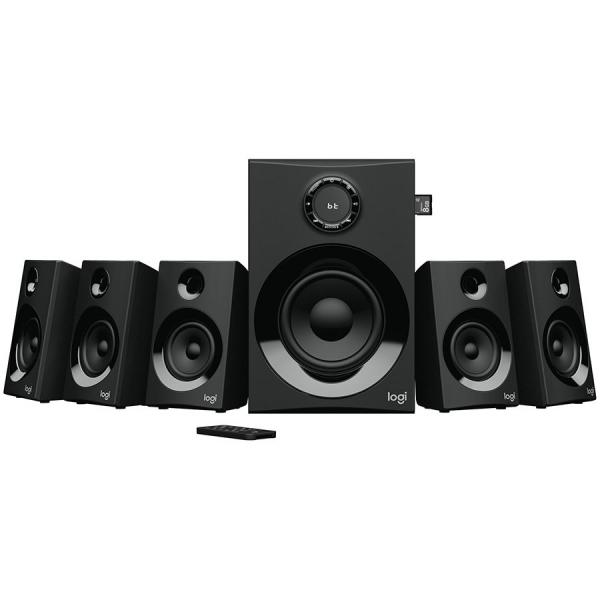 LOGITECH Z607 5.1 Surround Sound with Bluetooth - BLACK - BT - PLUGC - EU 0