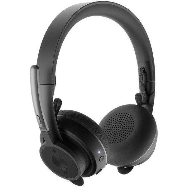 LOGITECH Zone Wireless Teams Bluetooth headset - GRAPHITE - BT - EMEA 1