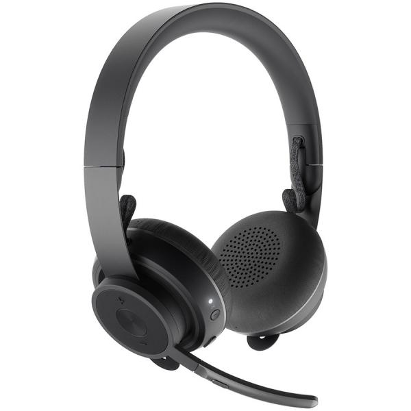 LOGITECH Zone Wireless Teams Bluetooth headset - GRAPHITE - BT - EMEA 0