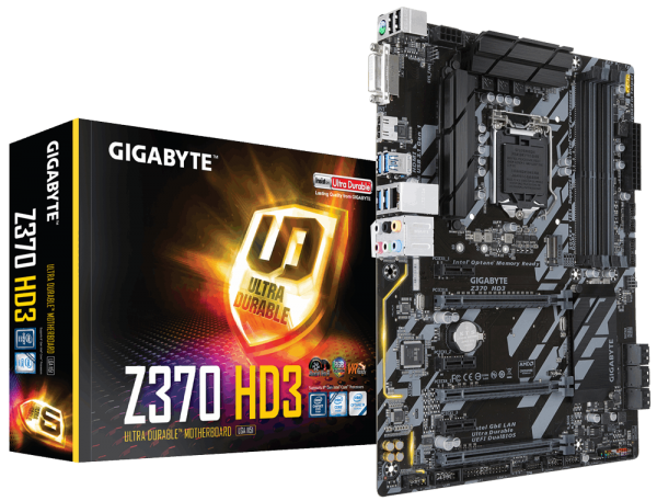 "MB skt 1151  (INTEL Z370)  Gigabyte ""Z370 HD3"" 4"