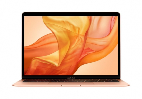 Laptop Apple 13.3'' New MacBook Air 13 with Retina display, Amber Lake Y i5 1.6GHz, 8GB, 128GB SSD, GMA UHD 617, MacOS Mojave, Gold, INT keyboard 0