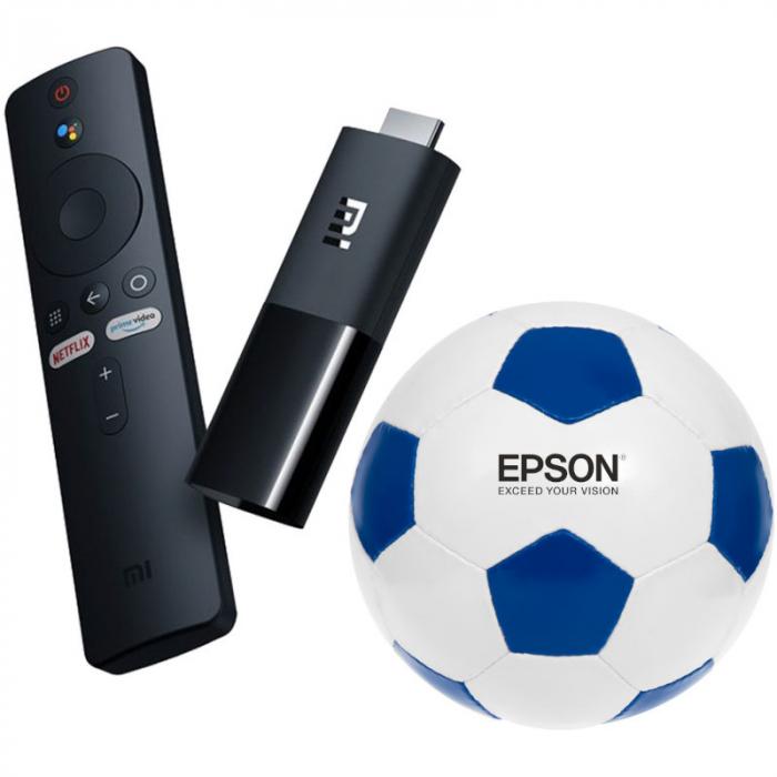 Mediaplayer Xiaomi Mi TV Stick, Full HD, Chromecast, Control Voce, Bluetooth, Wi-Fi, HDMI, Negru + Minge cadou [0]
