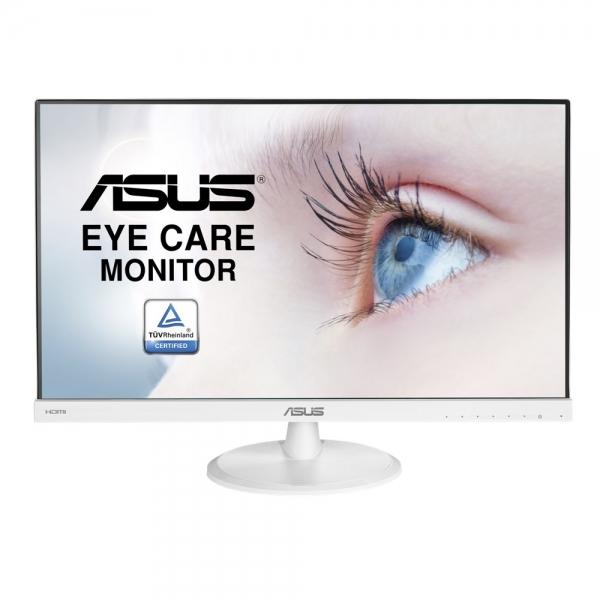 "MONITOR ASUS 23"" WLED, Tehn. IPS, Rez. 1920x1080, 5ms, 250 cd/mp, VGA, HDMI, alb, ""VC239HE-W"" (include timbru verde 3 lei) 0"
