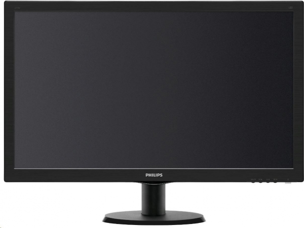 "Monitor LED PHILIPS 273V5LHSB/00 (27"""", 1920x1080, LED Backlight, 1000:1, 10000000:1(DCR), 170/160, 5ms, HDMI/DVI/VGA) Black 1"
