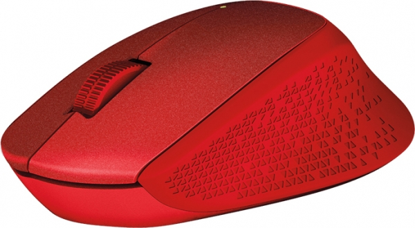 """MOUSE Logitech  """"M330 Silent"""" Wireless Mouse, red """"910-004911""""  (include timbru verde 0.01 lei) 4"""