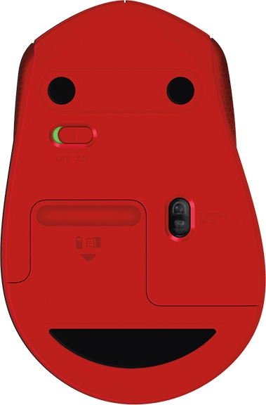 """MOUSE Logitech  """"M330 Silent"""" Wireless Mouse, red """"910-004911""""  (include timbru verde 0.01 lei) 2"""