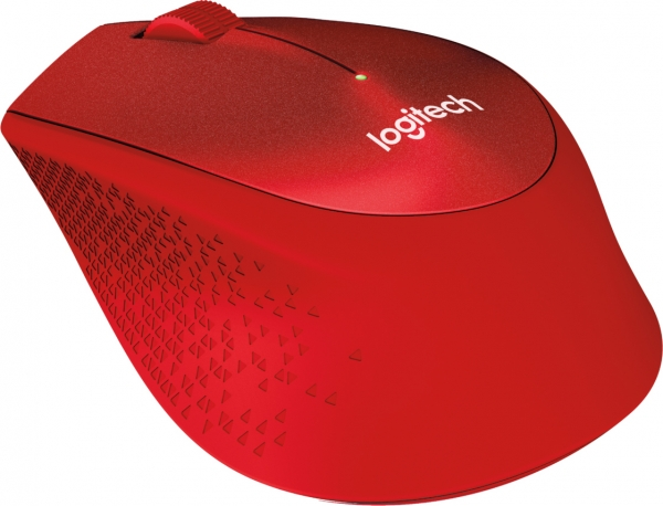 """MOUSE Logitech  """"M330 Silent"""" Wireless Mouse, red """"910-004911""""  (include timbru verde 0.01 lei) 3"""