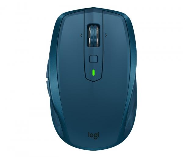 "MOUSE LOGITECH wireless laser, 4000dpi, 7 butoane, 1 rotita scroll, ""MX Anywhere 2S"", albastru, ""910-005154"" (include timbru verde de 0.1 lei) 0"