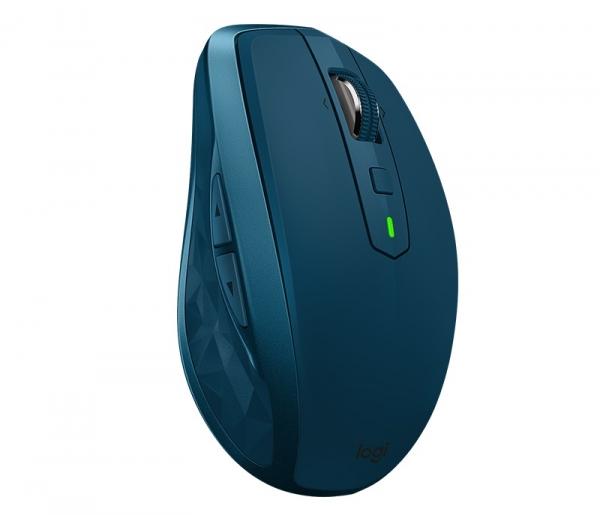 "MOUSE LOGITECH wireless laser, 4000dpi, 7 butoane, 1 rotita scroll, ""MX Anywhere 2S"", albastru, ""910-005154"" (include timbru verde de 0.1 lei) 1"