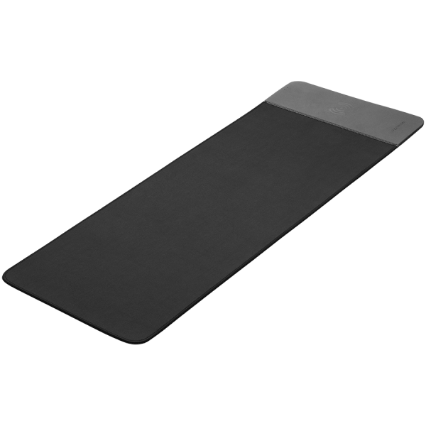 Mouse Mat with wireless charger, Input 5V/9V-2A, Output 5W/7.5W/10W, 800*300*8mm, Micro USB cable length 1m, Black, 674.7g [1]