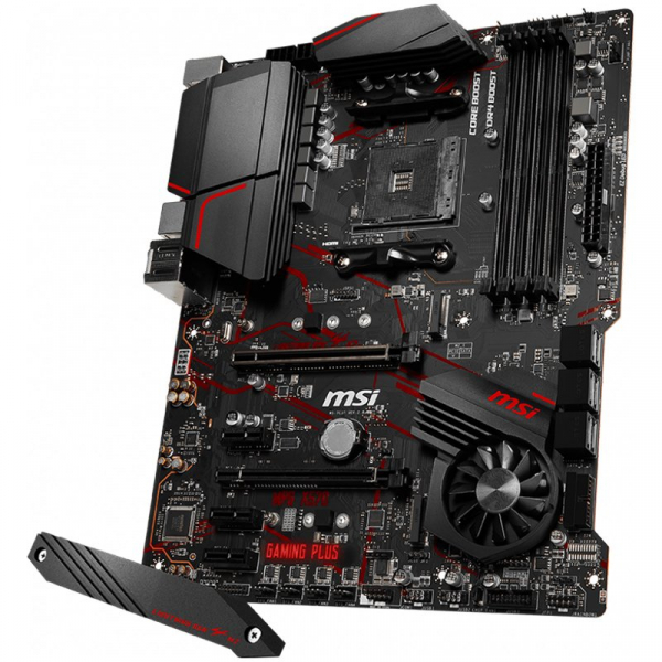 MSI Main Board Desktop X570 (SAM4, 4xDDR4, 1xPCI-Ex16, 1xPCI-Ex4, 3xPCI-Ex1, 6xSATA III, 2xM2, RAID, HDMI, USB3.2, USB2.0, GLAN) ATX Retail 2