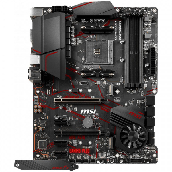 MSI Main Board Desktop X570 (SAM4, 4xDDR4, 1xPCI-Ex16, 1xPCI-Ex4, 3xPCI-Ex1, 6xSATA III, 2xM2, RAID, HDMI, USB3.2, USB2.0, GLAN) ATX Retail 1