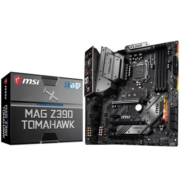 MSI Main Board Desktop Z390 (S1151, 4xDDR4, 3xPCI-Ex16, 2xPCI-Ex1, USB3.1, USB Type-C, USB2.0, 6xSATA III, 2xM.2, RAID, HDMI, DP, 2xGLAN, RGB) ATX Retail 0