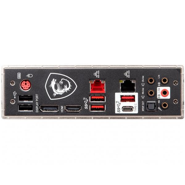 MSI Main Board Desktop Z390 (S1151, 4xDDR4, 3xPCI-Ex16, 2xPCI-Ex1, USB3.1, USB Type-C, USB2.0, 6xSATA III, 2xM.2, RAID, HDMI, DP, 2xGLAN, RGB) ATX Retail 3