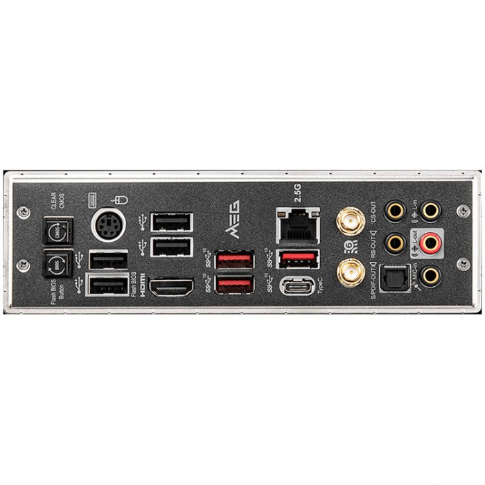 MSI MEG B550 UNIFY, ATX, AMD AM4, 1x PCI-E 4.0/3.0x16+1x PCI-E 3.0x16, 4 DIMMs, Dual Channel DDR4-5100MHz(OC), 3x Gen4 M.2+1x Gen3, 6x SATA 6Gb/s, 5x USB 3.2 Gen2 10Gbps, 2x USB 3.2 Gen1 5Gbps, 8x USB [2]