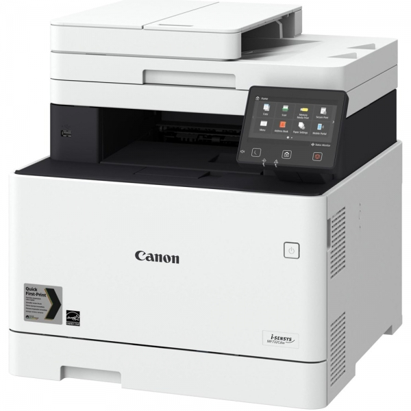 Multifunctional CANON, Laser, i-SENSYS MF734Cdw, USB 2.0, WiFi, ETH, Windows, Resolution 1200x1200 dpi, First print 8.6 sec, Print speed PPM 27, Memory (RAM) 1GB, Duty Cycle 4000 Pages/month, Copy, Sc 0