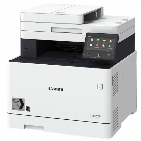 Multifunctional CANON, Laser, I-Sensys MF735CX, USB 2.0, WiFi, ETH, Windows, Linux, MacOS, rez. 600x600 dpi, Print speed PPM 28, Memory (RAM) 1GB, Copy, Scan, Fax, Colour printing, (include TV 8 Lei) 0