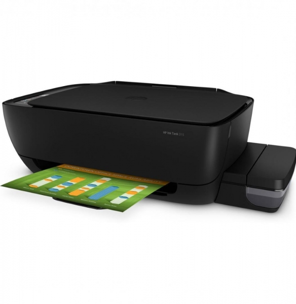MULTIFUNCTIONAL CERNEALA HP INK TANK 315 AIO PRINTER CISS (include timbru verde 4 lei) 0