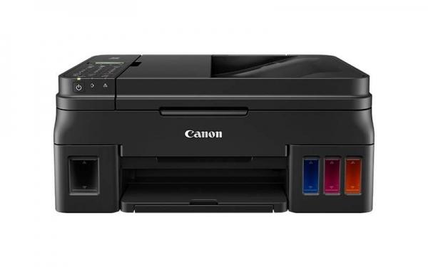 Multifunctional inkjet color CISS Canon PIXMA G4411, dimensiune A4 (Printare, Copiere, Scanare, Fax), viteza 8,8ipm alb-negru, 5ipm color, rezolutie printare 4800x1200 dpi, imprimare fara margini, ali 0