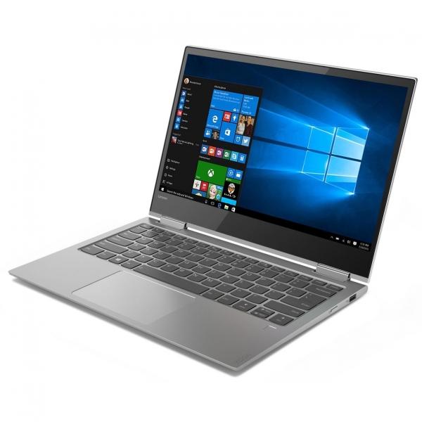 "NOTEBOOK 2 in 1/Touchscreen, Yoga, 730-13IKB, Core i5, CPU i5-8250U, 1600 MHz, Screen 13.3"", Touchscreen, Resolution 1920x1080, RAM 8GB, Max 16GB, DDR4, Frequency speed 2400 MHz, SSD 256GB, VGA card I 1"