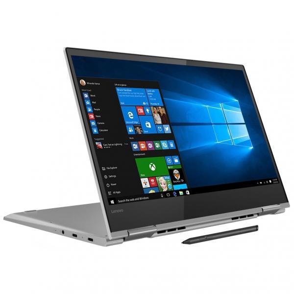 "NOTEBOOK 2 in 1/Touchscreen, Yoga, 730-13IKB, Core i5, CPU i5-8250U, 1600 MHz, Screen 13.3"", Touchscreen, Resolution 1920x1080, RAM 8GB, Max 16GB, DDR4, Frequency speed 2400 MHz, SSD 256GB, VGA card I 0"