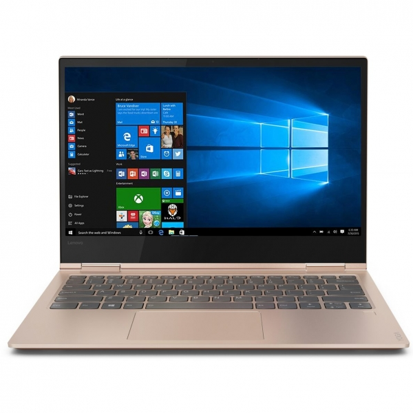 "NOTEBOOK 2 in 1/Touchscreen, Yoga, 730-13IKB, Core i7, CPU i7-8550U, 1800 MHz, Screen 13.3"", Touchscreen, Resolution 3840x2160, RAM 16GB, Max 16GB, DDR4, Frequency speed 2400 MHz, SSD 512GB, VGA card  3"