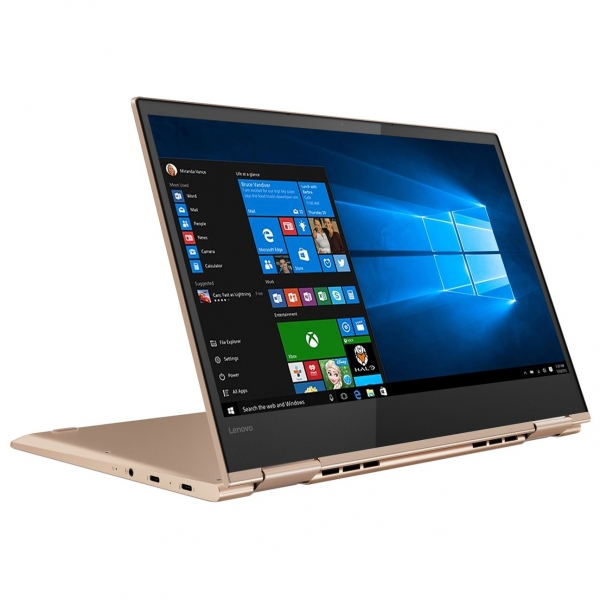 "NOTEBOOK 2 in 1/Touchscreen, Yoga, 730-13IKB, Core i7, CPU i7-8550U, 1800 MHz, Screen 13.3"", Touchscreen, Resolution 3840x2160, RAM 16GB, Max 16GB, DDR4, Frequency speed 2400 MHz, SSD 512GB, VGA card  0"