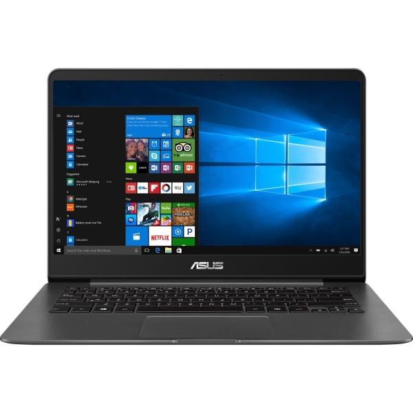 "NOTEBOOK ASUS UX430UA-GV340R | Core i5 | CPU i5-8250U | 1600 MHz | Screen 14"" | Resolution 1920x1080 | Screen type Non-Glare | RAM 8GB | Max 8GB | DDR3 | SSD 256GB | VGA card Intel UHD graphics 620  ( 0"