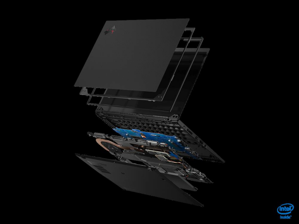 Ultrabook Lenovo ThinkPad X1 Carbon 8th gen, Intel Core i7-10510U, 14inch Touch, RAM 16GB, SSD 1TB, Intel UHD Graphics, 4G, Windows 10 Pro, Black 2