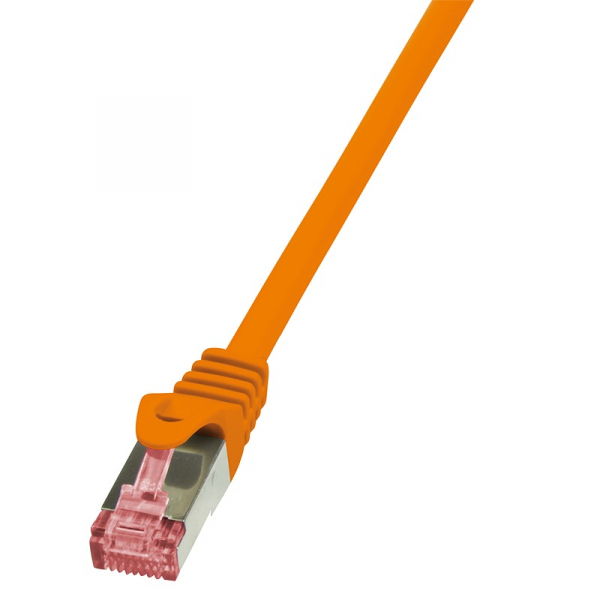 "Patch Cable Cat.6 S/FTP orange  3,00m, PrimeLine ""CQ2068S"" 0"