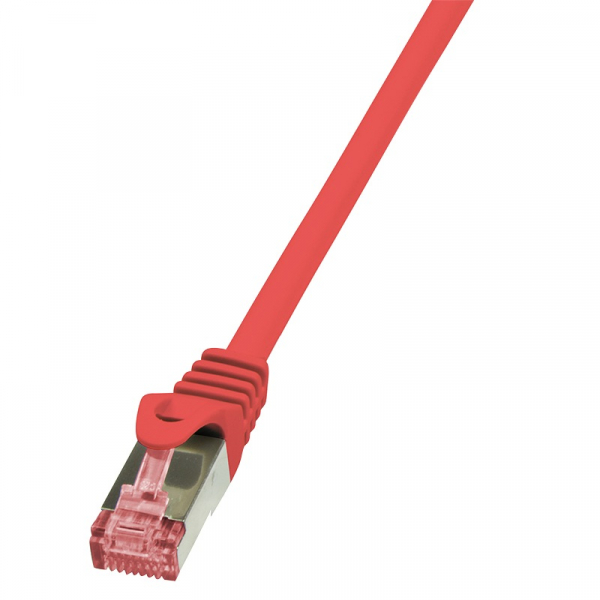 """Patch Cable Cat.6 S/FTP red  7,50m, PrimeLine """"CQ2084S"""" 0"""
