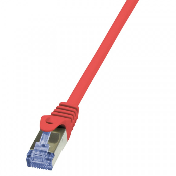 """Patch Cable Cat.6A S/FTP red  7,50m, PrimeLine """"CQ3084S"""" 0"""