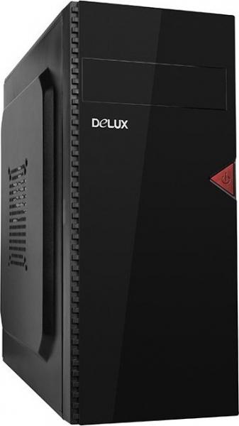 """PC Chassis DELUX ATX, with PSU 450W, Black, 1x5.25"""", 2x3.5"""", 3x2.5"""", Front USB+Audio,  Rear: 1x80, 410x370x176mm 0"""