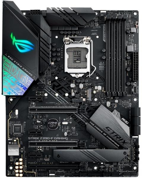 Placa de baza ASUS skt. LGA1151, ROG STRIX Z390-F GAMING, 4x DIMM DDR4 4266(O.C.) MHz Non-ECC, 1x DisplayPort/HDMI, 3x PCIe 3.0/2.0 x16, 3x PCIe 3.0/2.0 x1, 6x SATA 6Gb/s, Intel I219-V Gigabit LAN, 8x 0