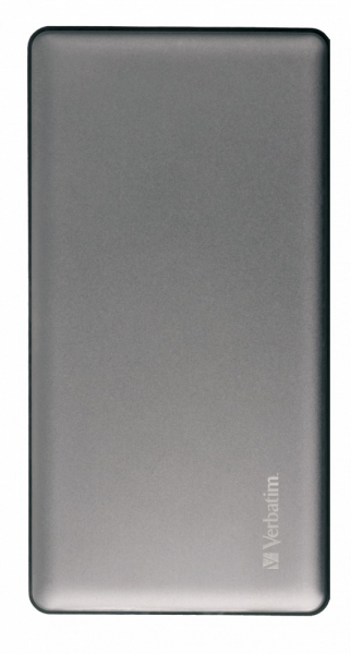 "POWER BANK VERBATIM 10000mAh, 2 x USB Quick Charge 3.0 & 1 x USB-C Power Delivery, total 3A out, black, ""49576"" (include timbru verde 0.5 lei) 1"