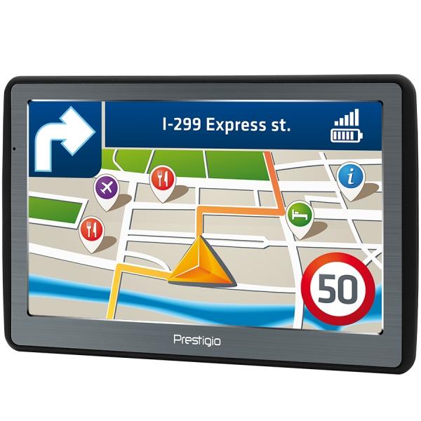 "Prestigio GeoVision 7060, 7"" (800*480) TN display, WinCE 6.0, 800MHz Mstar MSB2531 Cortex A7, 128MB DDR, 8GB Flash, 1500mAh battery, color/black 1"