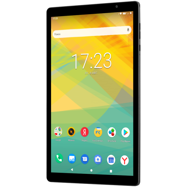 "prestigio grace 4891 4G, PMT4891_4G_E, Single SIM card, have call function, 10.1""(800*1280) IPS on-cell display, 2.5D TP, LTE, up to 1.6GHz octa core processor, android 9.0, 3G+32GB, 0.3MP+2MP, 5000mA 1"