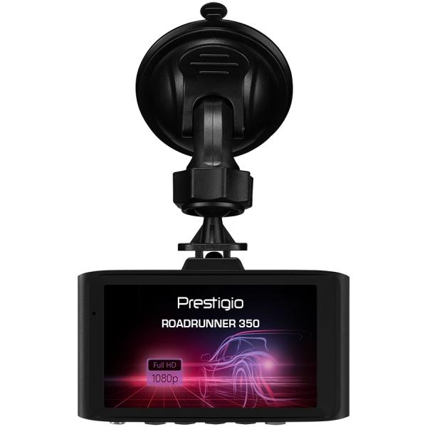 Prestigio RoadRunner 350, 3.0\'\' IPS (640x360) display, FHD 1920x1080@30fps, HD 1280x720@30fps, VGA 640x480@30fps, CPU GP6248, 1 MP CMOS H62 image sensor, 12 MP camera, 120° Viewing Angle, Mini USB,  3