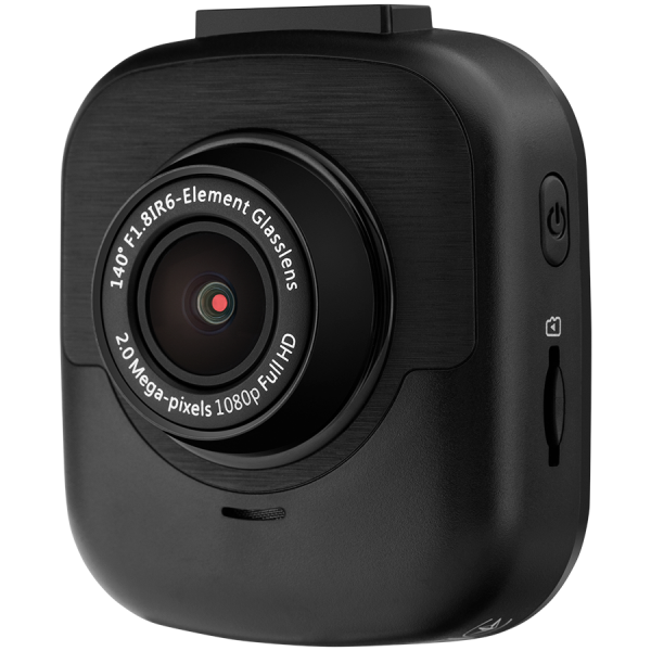 Prestigio RoadRunner 425, 2.0\'\' LCD (960x240) display, FHD 1920x1080@30fps, HD 1280x720@30fps, GP5168, 2.0 MP CMOS GC2023 image sensor, 2 MP camera, 140° Viewing Angle, 340 mAh, OVP, NTC, Motion Det 1