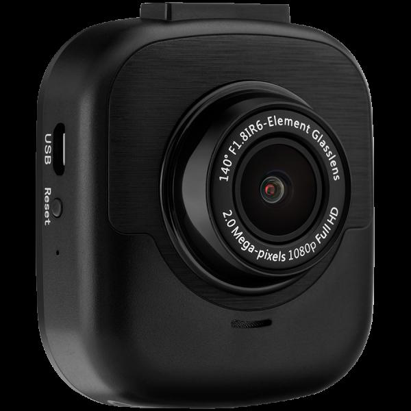 Prestigio RoadRunner 425, 2.0\'\' LCD (960x240) display, FHD 1920x1080@30fps, HD 1280x720@30fps, GP5168, 2.0 MP CMOS GC2023 image sensor, 2 MP camera, 140° Viewing Angle, 340 mAh, OVP, NTC, Motion Det 2