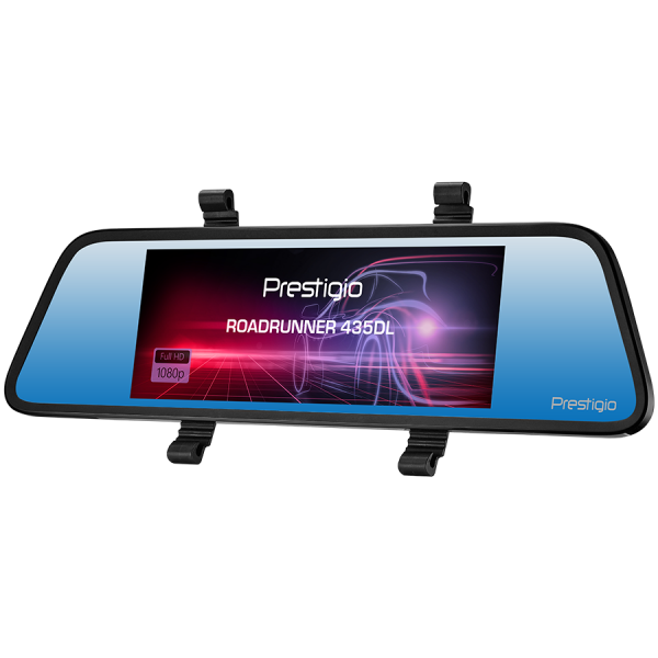 Prestigio RoadRunner 435DL, 6.86\'\' (1280x480) touch display, Dual camera: front - FHD 1920x1080@30fps, HD 1280x720@30fps, rear - VGA 640x480@30fps, SSC8336, 2 MP CMOS GC2063 image sensor, 12 MP came 2