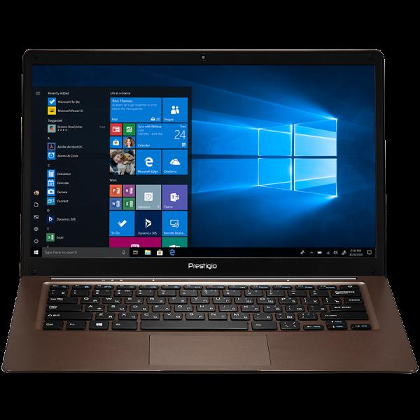 "Prestigio SmartBook 141 C3, 14.1"" (1366*768) TN, Windows 10 Home (English), up to 1.92GHz Quad Core Intel Atom Z8350, 2GB DDR, 64GB Flash, BT 4.0, WiFi, USB 3.0, USB 2.0, MicroSD card slot, mini HDMI  0"