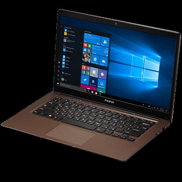 "Prestigio SmartBook 141 C3, 14.1"" (1366*768) TN, Windows 10 Home (English), up to 1.92GHz Quad Core Intel Atom Z8350, 2GB DDR, 64GB Flash, BT 4.0, WiFi, USB 3.0, USB 2.0, MicroSD card slot, mini HDMI  3"