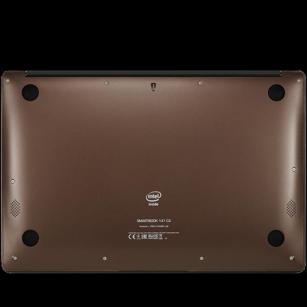 "Prestigio SmartBook 141 C3, 14.1"" (1366*768) TN, Windows 10 Home (English), up to 1.92GHz Quad Core Intel Atom Z8350, 2GB DDR, 64GB Flash, BT 4.0, WiFi, USB 3.0, USB 2.0, MicroSD card slot, mini HDMI  2"