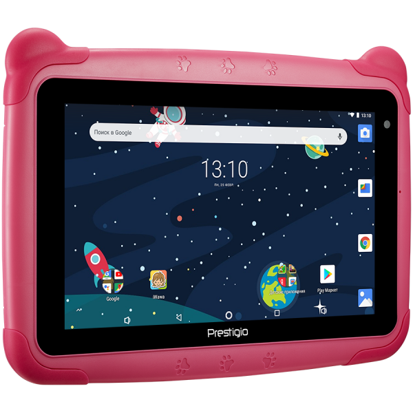 "Prestigio Smartkids, PMT3197_W_D_PK, wifi, 7"" 1024*600 IPS display, up to 1.3GHz quad core processor, android 8.1(go edition), 1GB RAM+16GB ROM, 0.3MP front+2MP rear camera,2500mAh battery 2"
